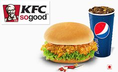 KFC deal in Mumbai Rs 139 for Chicken Rockin Combo along with a PVR gift voucher