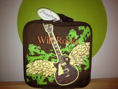 Kids Lunch Bag  Guitar  Four Peas  Personalized by FourPeasBags