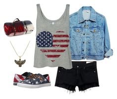 """""""Fourth of July"""" by kgirl114 on Polyvore featuring rag & bone/JEAN, Sperry, Alex and Ani and Tweedmill"""