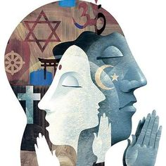 Religion is different types of practices for people with different beliefs. It lets people have hope for when they are in either good or bad situations. It lets them feel like they belong a part of something. Religion can be believed as faith which can lead into self actualization. -Karanjit Johel