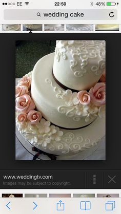 Dream wedding cake