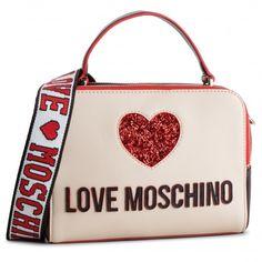 55b019e90c Τσάντα LOVE MOSCHINO - JC4117PP17L3100A Nero Avorio