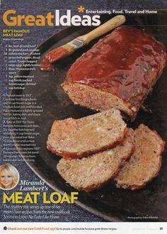 Miranda Lambert -Meat Loaf -People-Dec-9,2013