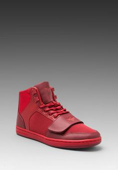 Creative Recreation Cesario Sneaker in Reds