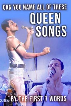 Put your classic music knowledge to the test and see if you can name all of these hit Queen songs by the first seven words. Musical Quiz, Finish The Lyrics, Queen Lyrics, Classic Rock Songs, Quizzes For Fun, Knowledge Test, Queen Meme, We Are The Champions, We Will Rock You