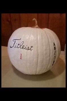 Titleist Pro V1 Pumpkin!: #GolfGifts