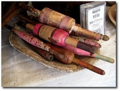 Rolling pins by Whimsey Chronicles on Flickr