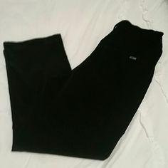 """St. John Sport Velvet Pant Super luxurious and soft. Gorgeous black velvet. Jean style pants. 28"""" waist, 12.5"""" rise, 25"""" inseam. Perfect for winter! St. John Pants"""