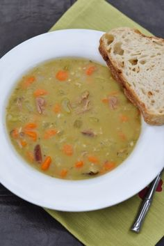 Welcome Fall with a Classic: Split Pea and Ham Soup