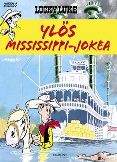 Lucky Luke - Ylös Mississippi-jokea