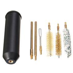 3 en Bois Tige 12g Calibre 20 Fusil Kit de Nettoyage pour Shot Pistolet Alésage