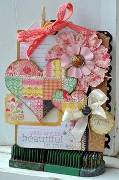 another gorgeous quilt inspired card
