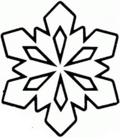 Snowflake Drawing Easy, Snowflake Quilt, Simple Snowflake, Snowflake Pattern, Christmas Ornaments To Make, Christmas Clipart, Christmas Snowflakes, Christmas Crafts, Quilt Patterns Free