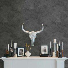 Innuendo Black Marble Wallpaper