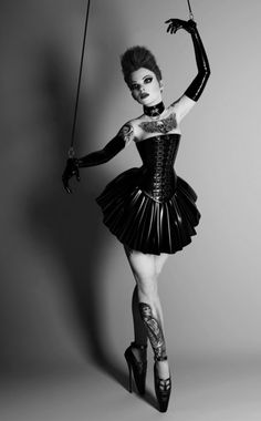 Marionette so cool look at the shoes!!
