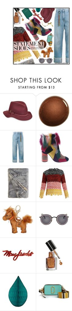 """""""Star"""" by stormbattereddragon ❤ liked on Polyvore featuring Karen Kane, NARS Cosmetics, Mira Mikati, Penny Loves Kenny, Sonia Rykiel, MCM, Olympia Le-Tan, Marc Jacobs, Bobbi Brown Cosmetics and Aspinal of London"""