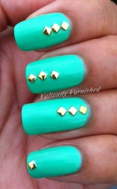 Valiantly Varnished: Neon and Studs