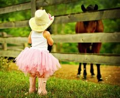 """""""All horses deserve, at least once in their lives, to be loved by a little girl."""""""
