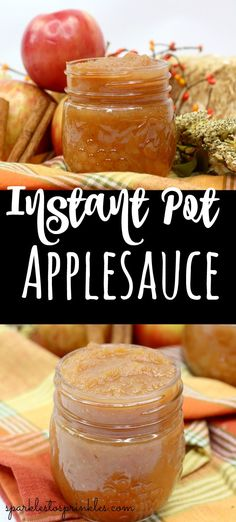 instant pot recipes Instant Pot Applesauce is incredibly easy to make. Nothing beats homemade applesauce, and this Instant Pot recipe is so easy to make. If you have never made homemade applesauce, you have to try it.Pin for Later! Best Apples For Applesauce, Homemade Applesauce, Applesauce Recipes, Apple Recipes, Baby Food Recipes, Dessert Recipes, Cooking Recipes, Instapot Applesauce, Apple Dump Cakes