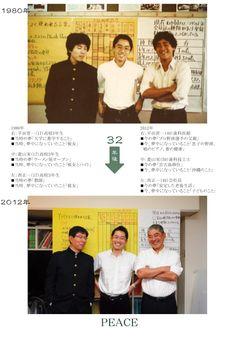 PEACE:1980年 → 2012年