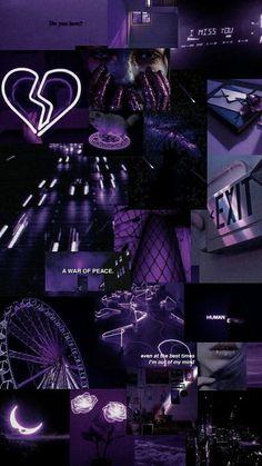Purple Wallpaper Iphone, Mood Wallpaper, Iphone Wallpaper Tumblr Aesthetic, Black Aesthetic Wallpaper, Iphone Background Wallpaper, Retro Wallpaper, Galaxy Wallpaper, Wallpaper Quotes, Aesthetic Wallpapers