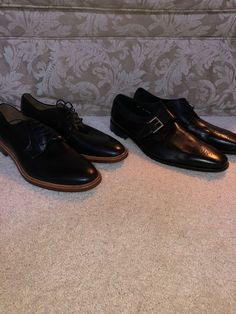 e0f1fab71b0 2 Pack Of Black Dress Shoes Size 11  fashion  clothing  shoes  accessories