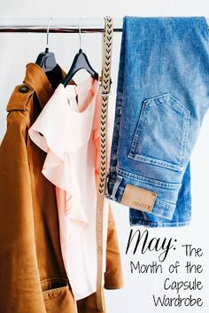 Join us for Minimalist May! You may just be surprised with how freeing a capsular wardrobe really is! #capsulewardrobe #minimalistmay #allthethings