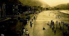 Av. Atlântica, Copacabana, Rio de Janeiro (faz tempo)