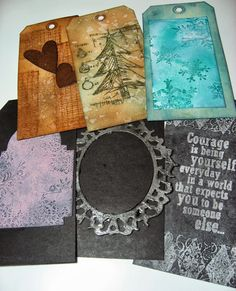 inkypinkycraft: inky fun and finding my mojo with Creative Chemistry 102 #5 and all the tags ..; Oct 2013