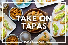 Tapas, while Spanish in origin, exist in nearly every cuisine around the globe and range from light snacks to hearty appetizers, cold tastes to warm nibbles. Any crowd-friendly appetizer can take on tapas-style charm when served among a wide selection of small snacks. But no matter how tiny the taste, each bite should be packed with big flavor.