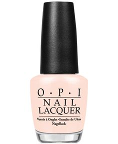 OPI nail polish in Sweet Heart was just made for Valentine's Day
