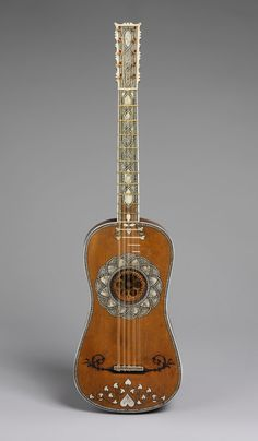 Guitar, MakerAttributed to Matteo Sellas,Chordophone-Lute-plucked-fretted