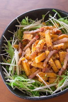 Sweet Potato and Bacon Salad