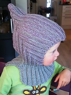 Ravelry: Eventyrlue med hals pattern by Handmade by Mona Baby Hat Knitting Pattern, Baby Hats Knitting, Knitting For Kids, Crochet For Kids, Diy Crochet, Sewing For Kids, Knitting Patterns Free, Crochet Baby, Knitted Hats