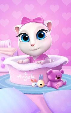 My Talking Angela v2.2.1 [Mod] http://androidappsapkmod.blogspot.com/2016/03/my-talking-angela-v221-mod.html
