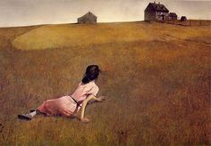 Andrew Wyeth, Christina's World, 1948, tempera