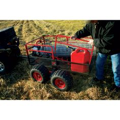 Yutrax Trail Warrior ATV Trailer — 4-Wheels, 1250-Lb. Capacity, Model# TX159 | Lawn Garden Utility Trailers| Northern Tool + Equipment