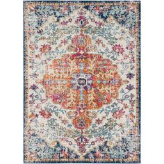 The vibrant and eclectic designs in Surya's Harput collection will set your space apart with a spash of color and edgy style. The tight patterns and vibrant untraditional colors in this polyrpolene rug are sure to catch the eye of visitors. This colleciton is machine made in Turkey and easily cleaned. All sales are final.