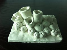 sea life clay sculpture by velvetville on Etsy, $65.00