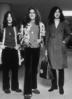 John Paul Jones, Robert Plant & Jimmy Page
