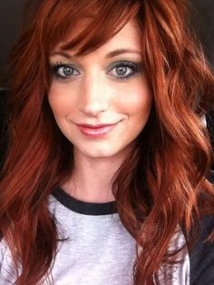 Love this hair color, not too red, not to brunette, just a perfect mix of the two. Description from pinterest.com. I searched for this on bing.com/images