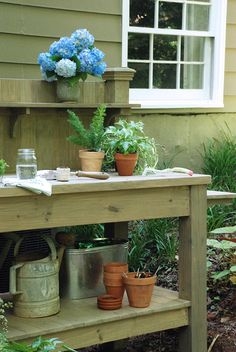 Potting Bench | the curtis casa