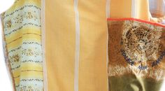 bag artistic PROVENCE, patchwork, embroidered