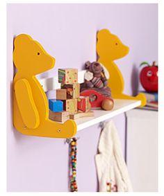 Ein Bärenregal zum Phantasieren und zum Selber-Basteln für welche, die gerne sägen und schrauben, schleifen und sprühen. Viel Spaß!