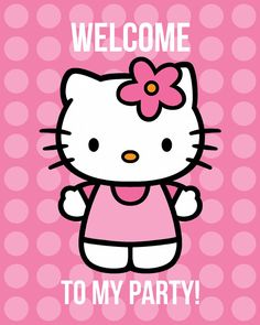 Hello Kitty party with printables