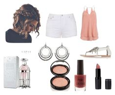 """""""Peach Pink Outfit"""" by aisha-567 on Polyvore featuring River Island, Ally Fashion and Anastasia Beverly Hills"""