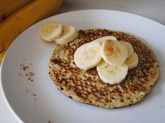 Low Carb Pancakes mit Banane