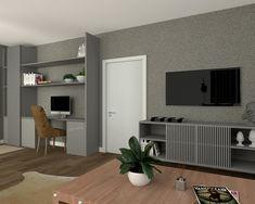Blanco Interiores Decor, Corner Desk, Desk, Furniture, Home Office, Home Decor, Fireplace