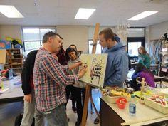 Should Teachers Make Art During Class?