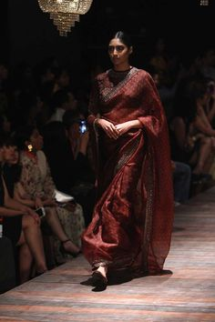 Sabyasachi at Lakmé Fashion Week Winter/Festive- 2016 Pakistani Outfits, Indian Outfits, Indian Clothes, Fashion Week 2016, Lakme Fashion Week, Indian Attire, Indian Wear, Sabyasachi Bride, Sabyasachi Sarees